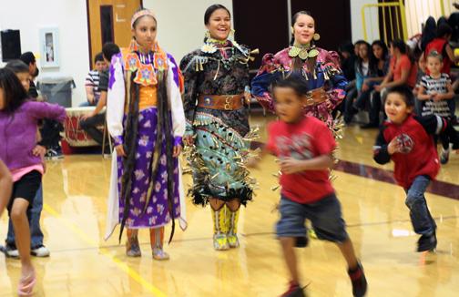 Powwow Girls Three